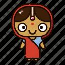 avatar, character, deepavali, diwali, festival, india, sita icon