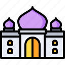 mahal, landmark, india, taj, monuments, building