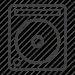 cdj, disc, dj, music, turntable icon