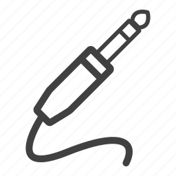 adaptor, cable, jack, plug icon
