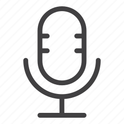 audio, microphone, music, recorder, sound icon