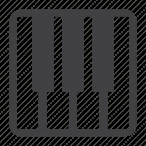 instrument, keyboard, music, sound, synthesizer icon