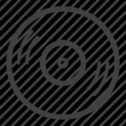 audio, dj, music, sound, vinyl icon