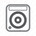 cdj, dance, disc jockey, edm, music, turntable icon