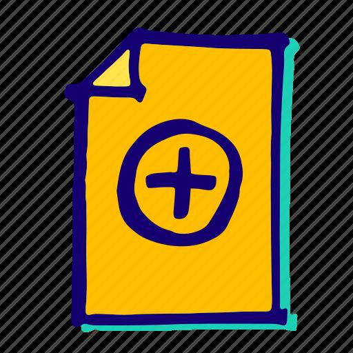 add, data, document, file, files icon