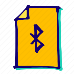 bluetooth, communication, connection, mobile, network icon