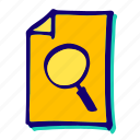 lens, find, glass, magnifier, magnifying, search, zoom