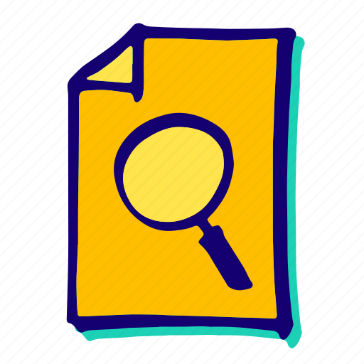 find, glass, lens, magnifier, magnifying, search, zoom icon