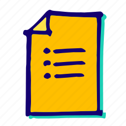 checklist, do, list, menu, new, to icon