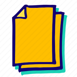 doc, documents, multipledoc, page, pages, sheets icon