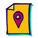 location, pin, direction, gps, marker, place, pointer