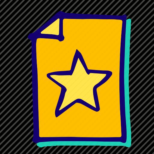 achievement, bookmark, favourite, like, rating, star, winner icon