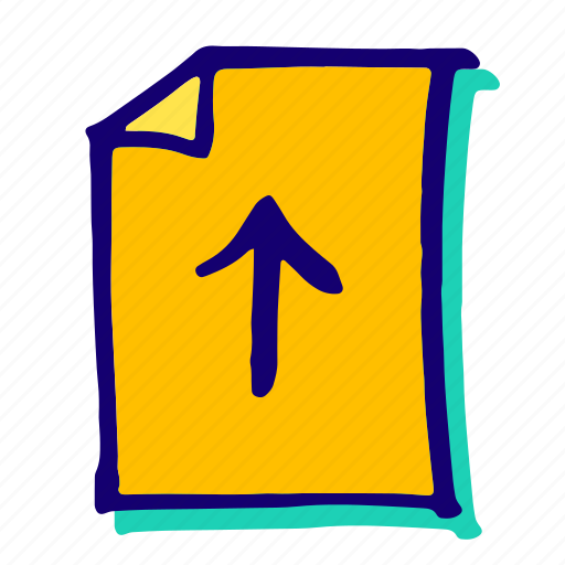 data, document, files, upload, uploading icon