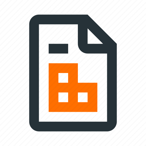 Data, document, extension, file, paper, spreadsheet, table icon - Download on Iconfinder
