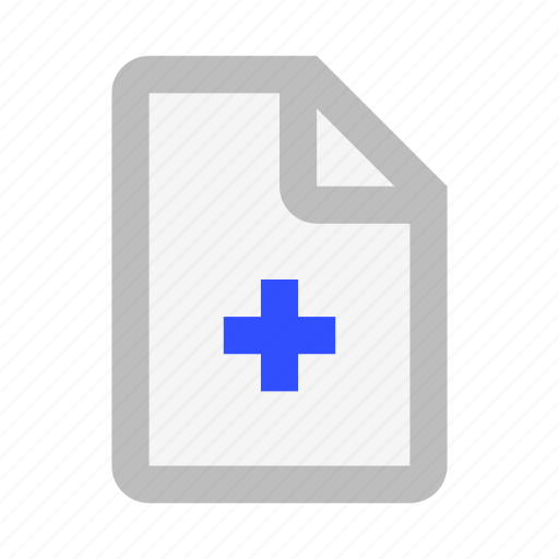 Add, document, extension, file, format, new, paper icon - Download on Iconfinder