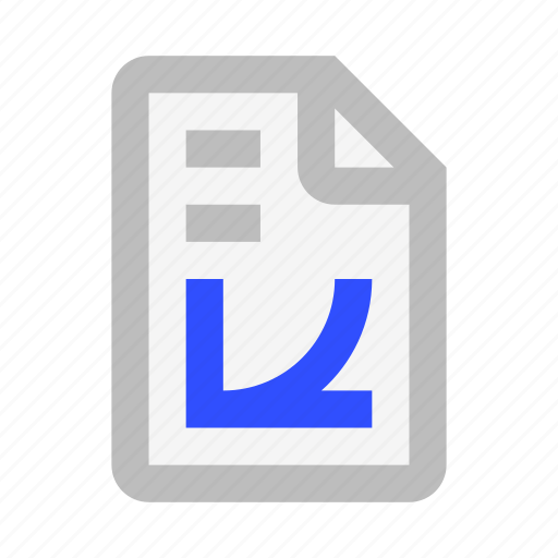 Chart, document, extension, file, format, graph, math icon - Download on Iconfinder