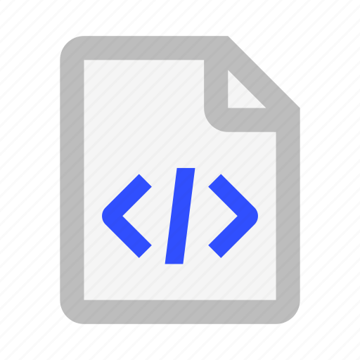 Code, document, extension, file, format, paper, tag icon - Download on Iconfinder