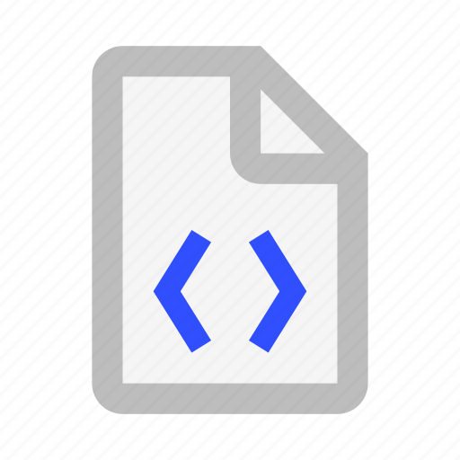 Code, document, extension, file, format, paper icon - Download on Iconfinder