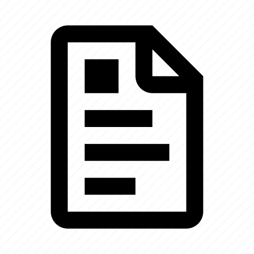document, extension, file, file format, format, paper, text icon