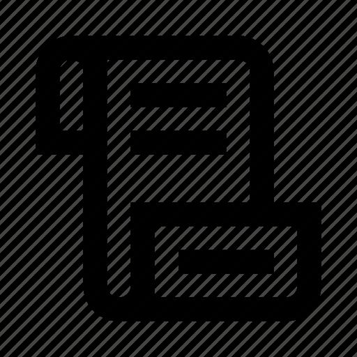 code, coding, extension, manuscript, programming, roll, script icon