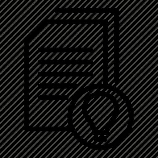 data document, document, document clue, document file, document idea, documentation, paper sheet icon