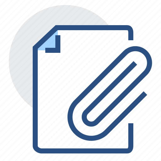 attachment, clip, documents, file, page, paper, sheet icon