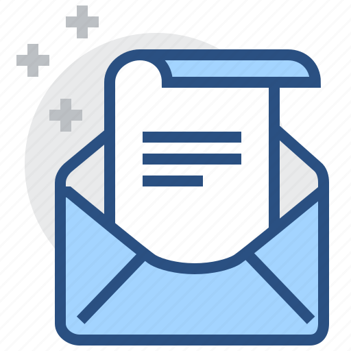 e-mail, envelope, letter, mail, message, paper icon
