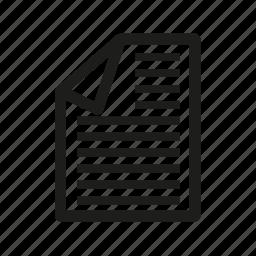 achive, document, file, paper icon