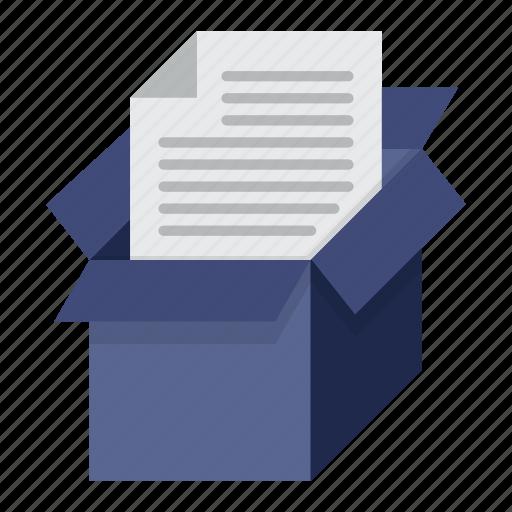 archive, data, document, storage icon