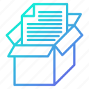 archive, data, document, savings, storage icon