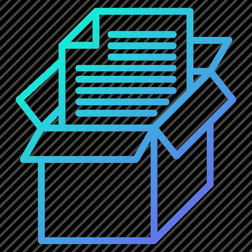 archive, data, document, savings, storage icon