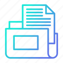 archive, document, folder, storage icon