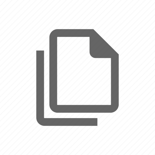 document, form, note, paper, sheet icon