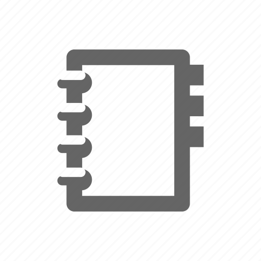 adress, book, document, paper icon