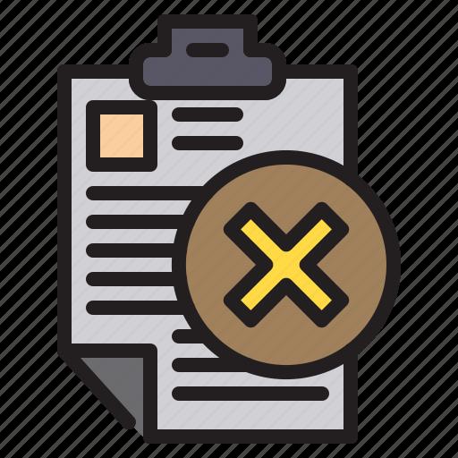 computer, data, document, error, file icon