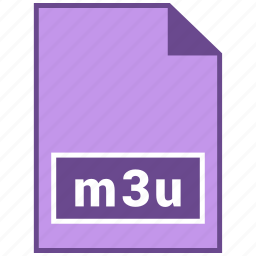 document file format, file format, m3u icon
