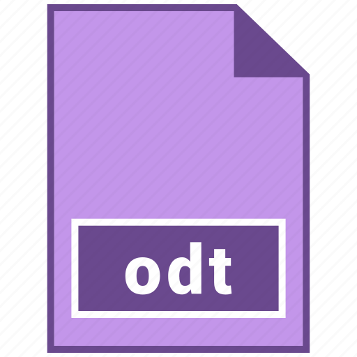 document file format, file format, odt icon
