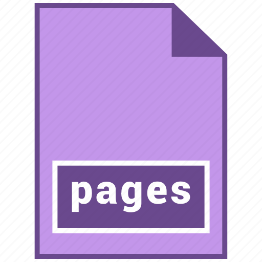 document file format, file format, pages icon