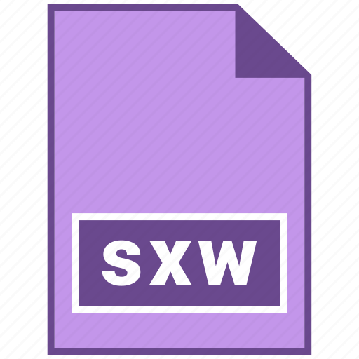 document file format, file format, sxw icon