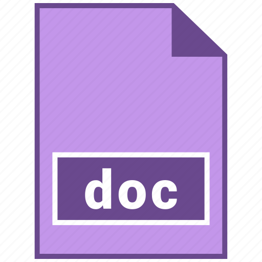 doc, document file format, file format icon