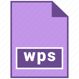 document file format, file format, wps icon