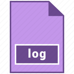 document file format, file format, log icon