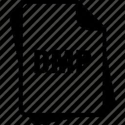 dmp, extention, file, type, windows memory dump icon