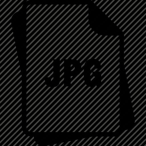 extention, file, jpeg, jpeg image, jpg, type icon