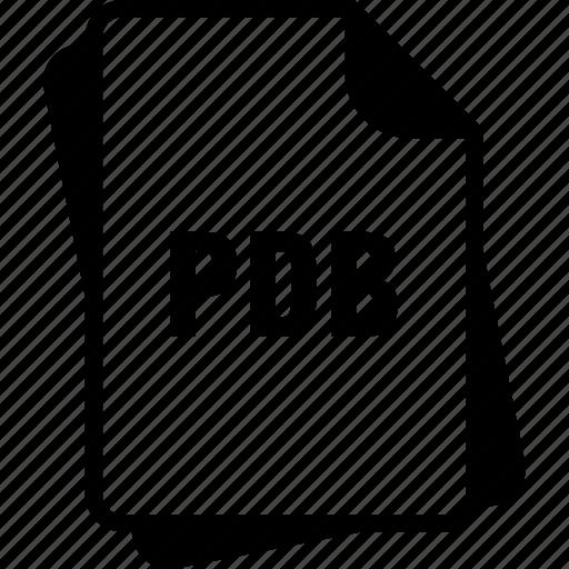 extention, file, pdb, program database, type icon