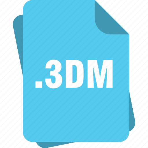 blue, dm 3, extension, file, page, type icon