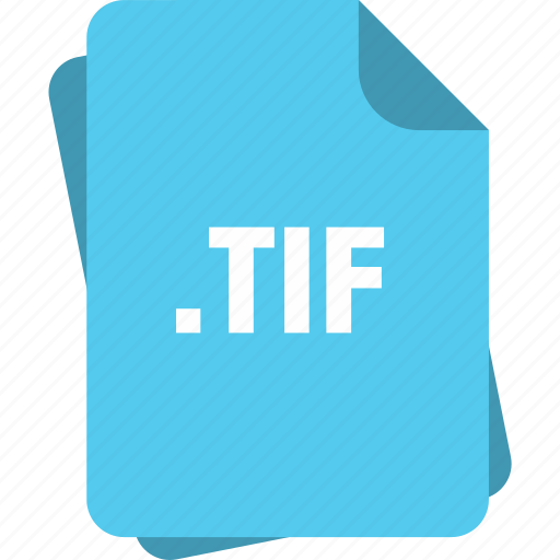 blue, extension, file, page, tif, type icon