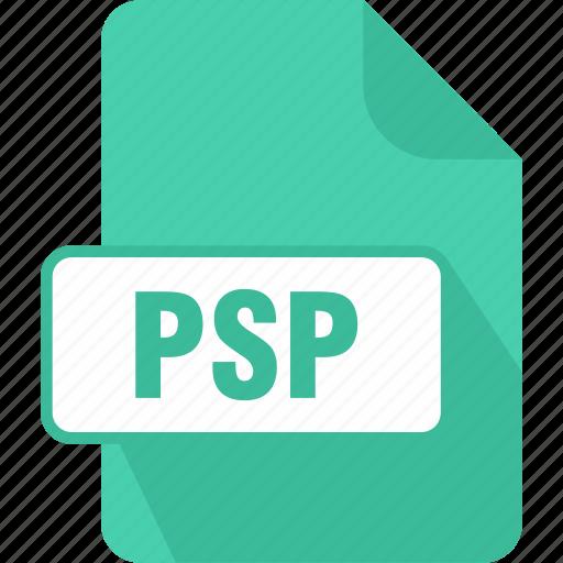 extension, file, paint, paintshop pro image, psp, type icon