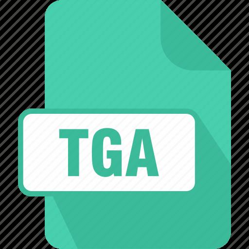 extension, file, graphic, targa graphic, tga, type icon