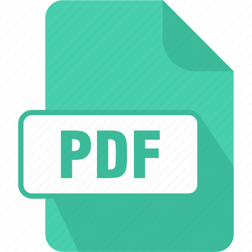document, extension, file, pdf, portable document format file, reader, type icon